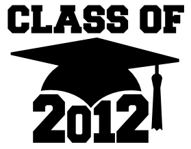 Class of 2012 free SVG