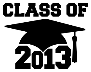 Class of 2013 free SVG