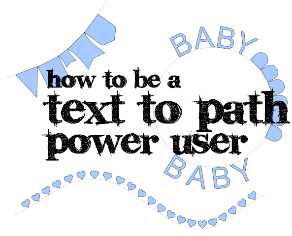 Power tips for text to path in Silhouette Studio