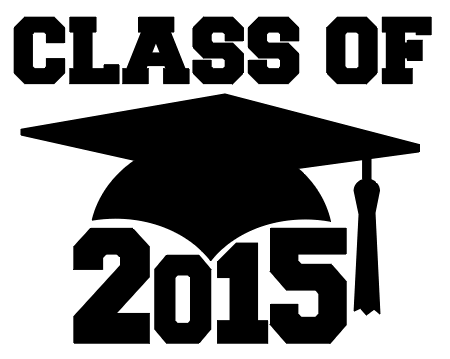 Class of 2015 free SVG