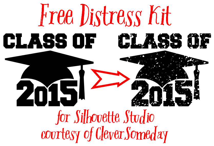 Easily add a fully adjustable distress effect to your Silhouette files!