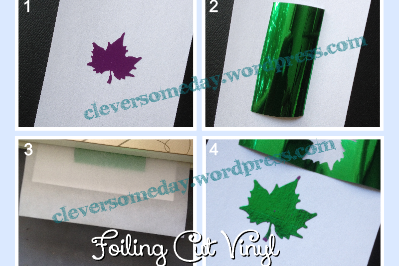 How to Foil Adhesive Vinyl