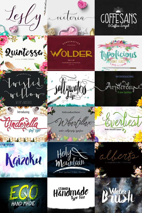 Learn how to use these crafter friendly fonts at cleversomeday.wordpress.com
