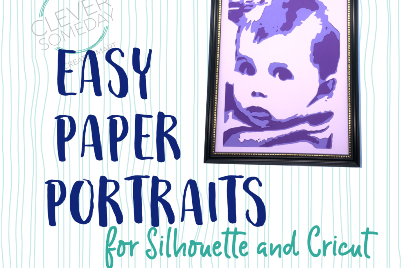 Easy Paper Portraits