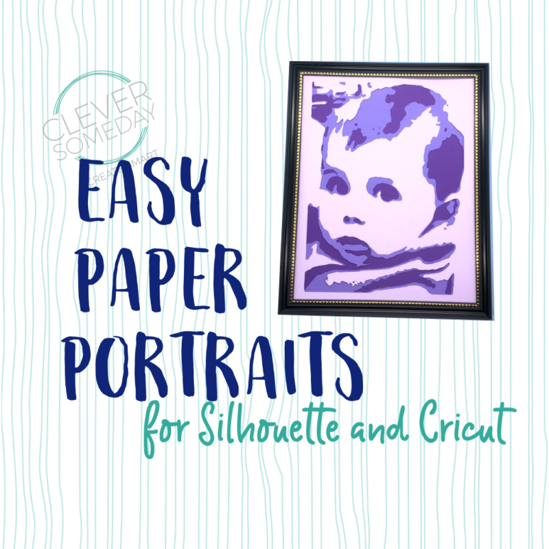 Easy Paper Portraits