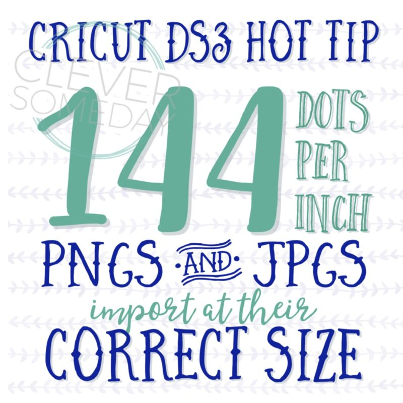 Better image sizing in Cricut Design Space 3