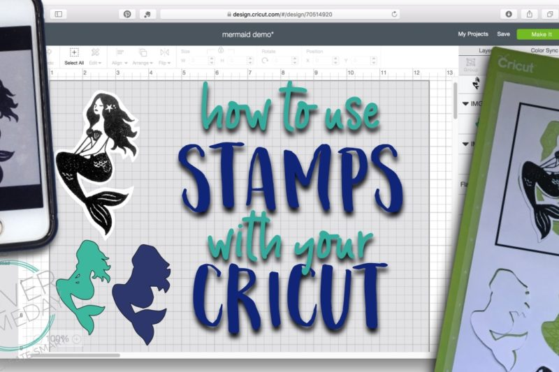 Easy stamp cutlines in Cricut Design Space 3