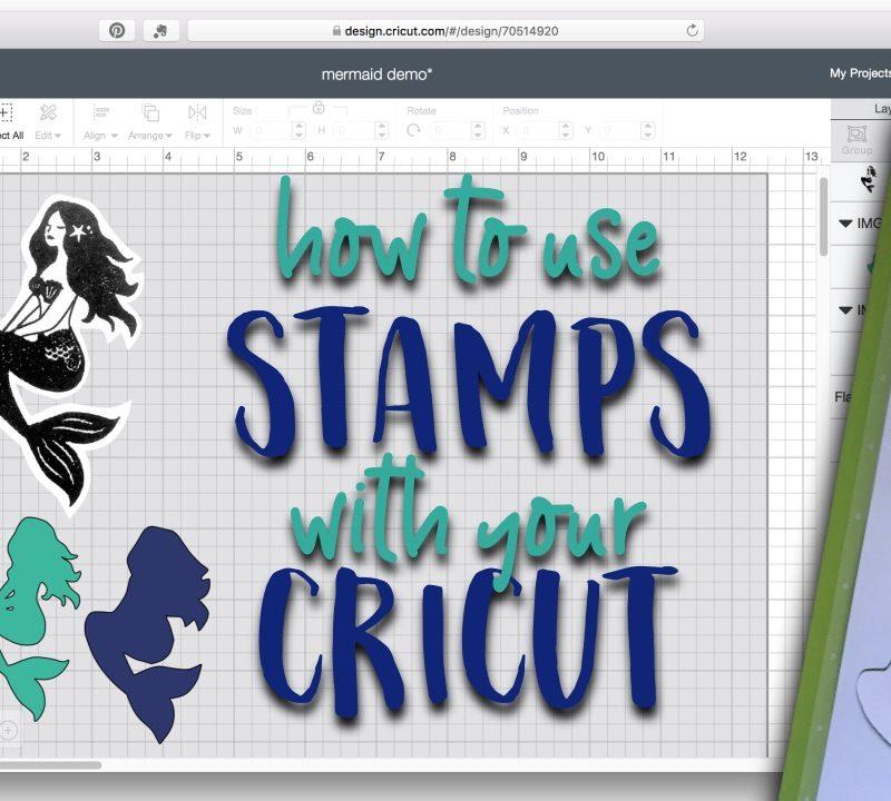 Easy stamp cutlines in Cricut Design Space 3