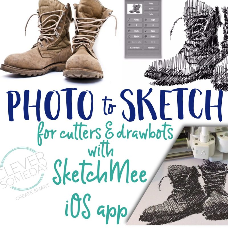 Photo to Sketch with Sketchmee app