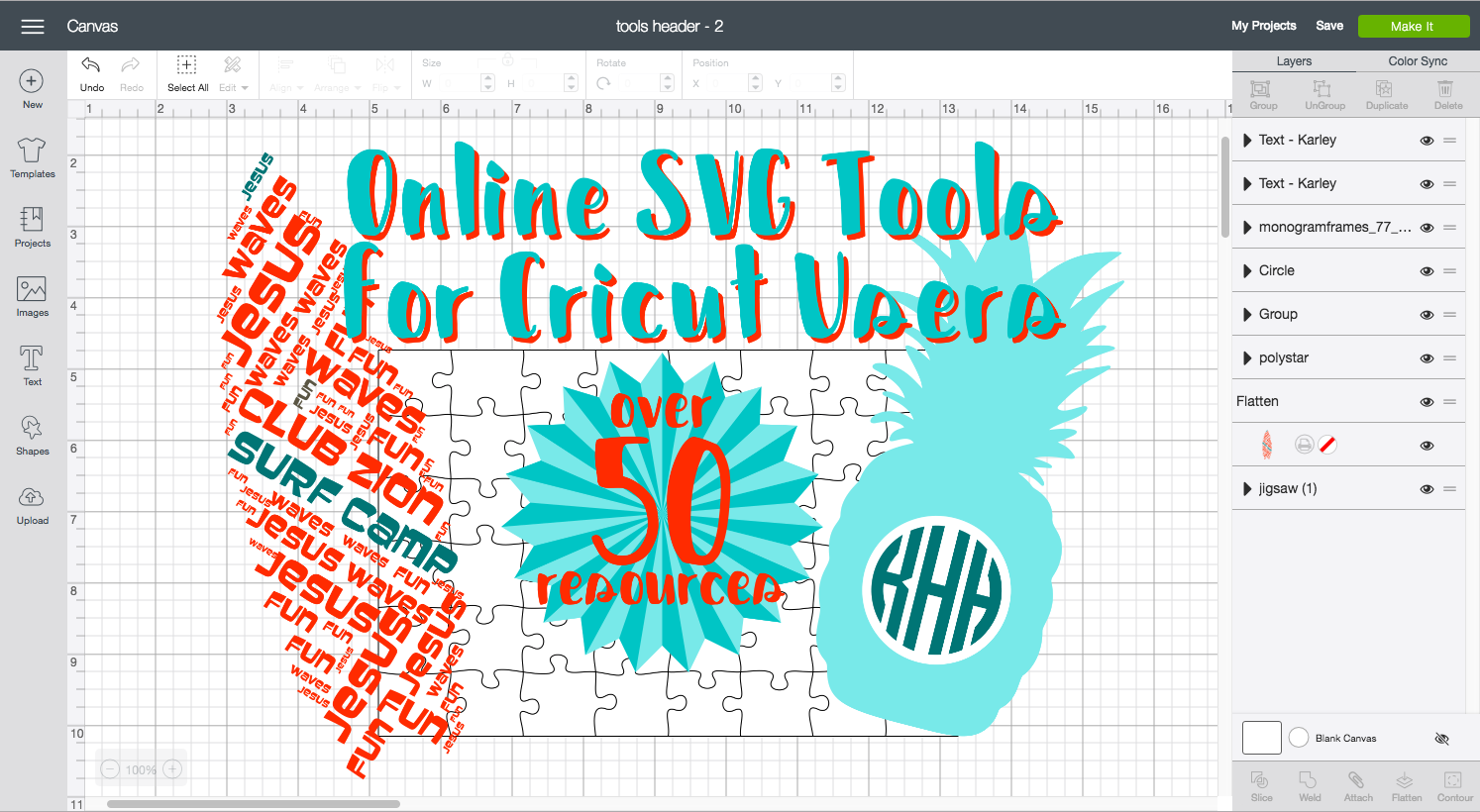 SVG Tools for Cricut Users